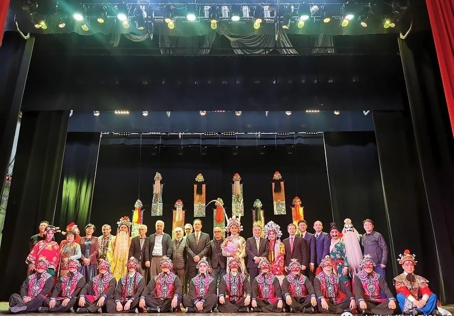 徽劇《驚魂記》巡演格魯吉亞 受到當地觀眾熱烈歡迎