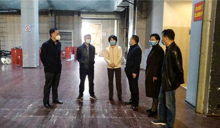 新金沙网址领导赴安徽大剧院调研指导疫情防控和复工复产工作